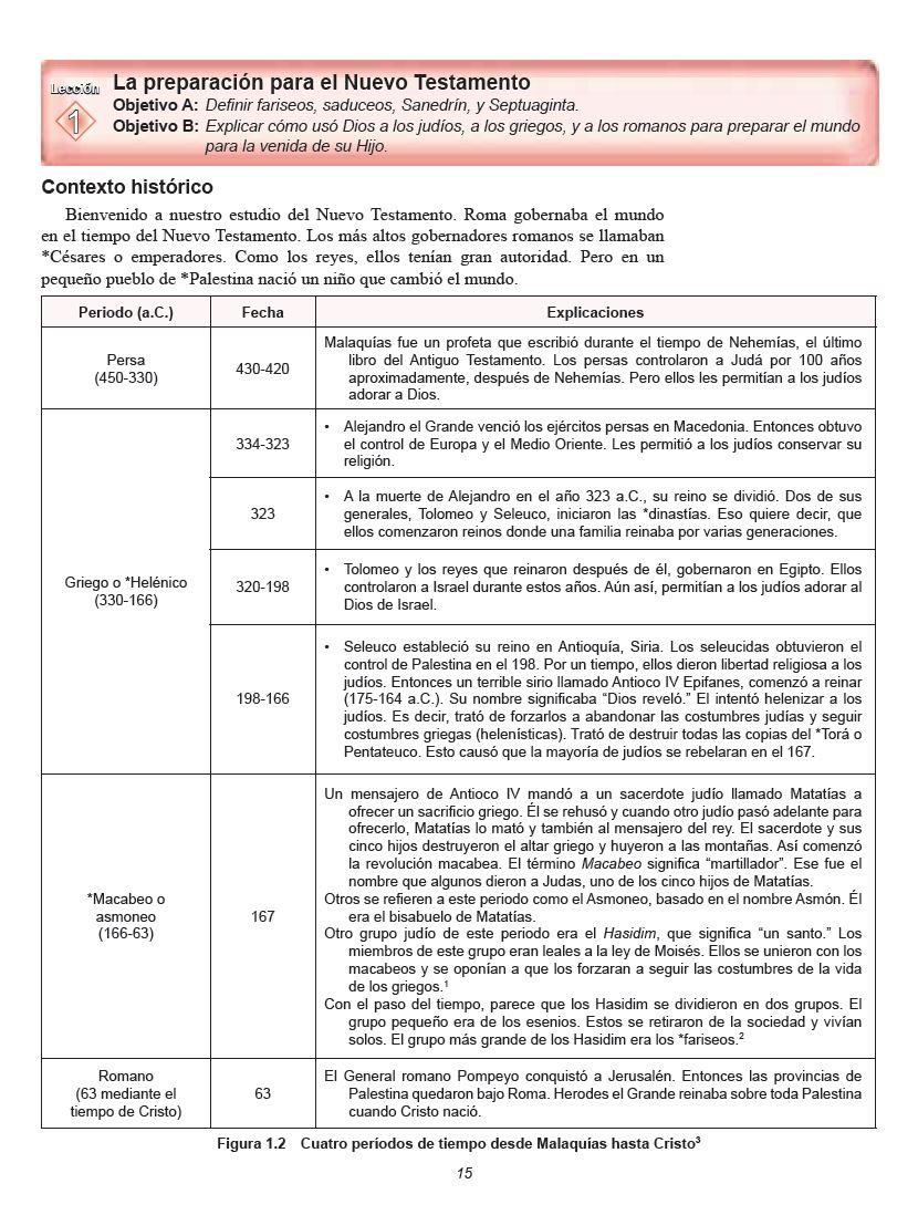 descargar panorama del nuevo testamento serie fe y acción pdf